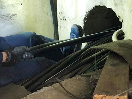 幹線改修工事